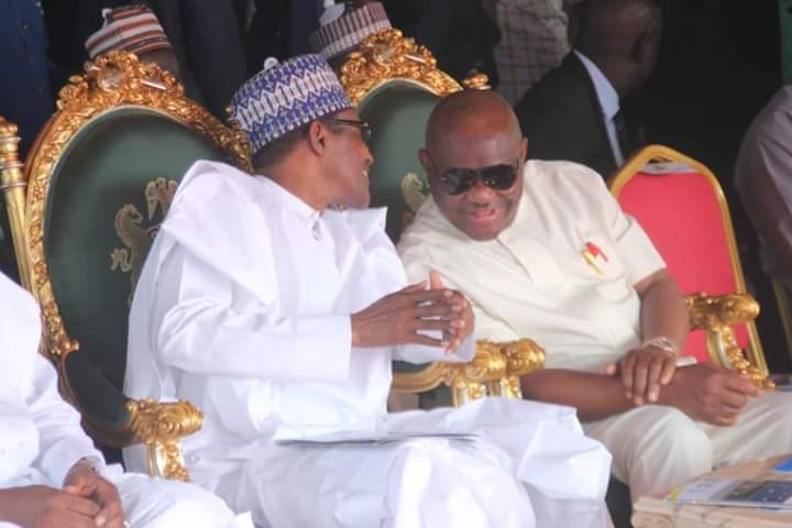 Photo of Wike commends Buhari over appointment of new service chiefs