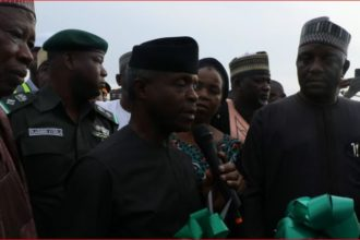 Osinbajo inaugurates 7.1mw Solar Hybrid project in BUK