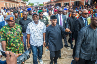 JUST IN: Osinbajo, Ortom meet over Benue, Ebonyi land crisis