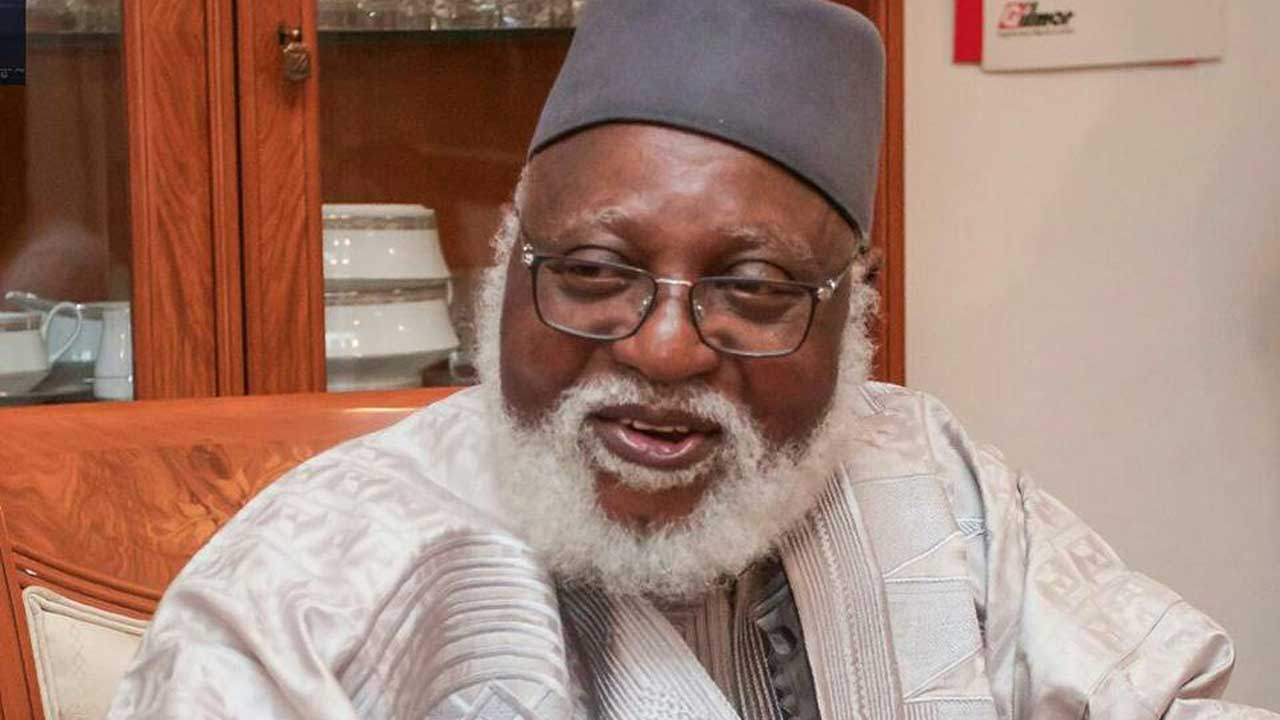 Ex-Head of State, Abdulsalam returns from medical trip abroad