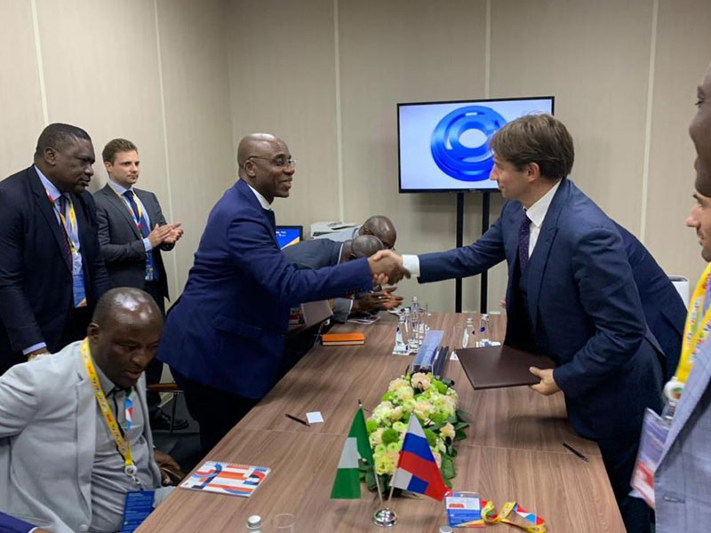 Photo of Ameachi signs MoU on development of railway infrastructure in Sochi Russia