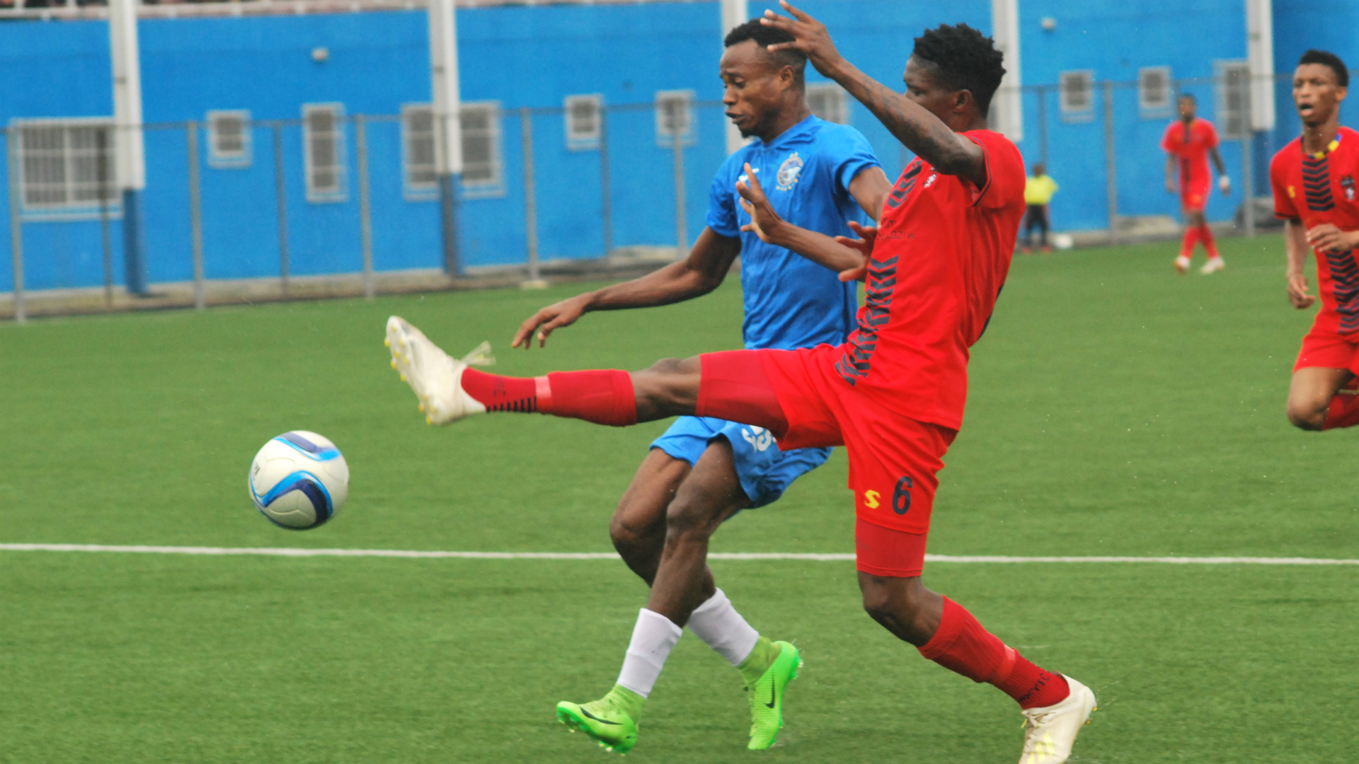 Photo of Enyimba beat TS Galaxy 2-0 in Aba