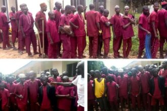 Again! 147 chained victims rescued in illegal Kaduna rehab centre [Photos]