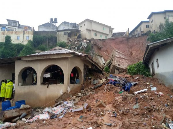 Photo of Photo: Four killed as another building collapses in Magodo