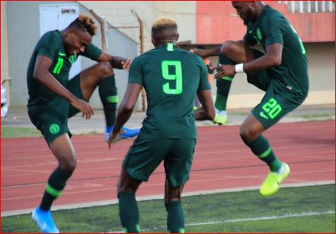 Photo of AFCON 2021 qualifier: Super Eagles beat Lesotho 4-2