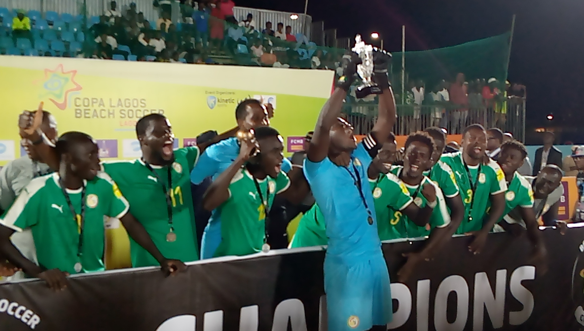 Photo of Senegal emerge African Champions of 2019 COPA Lagos