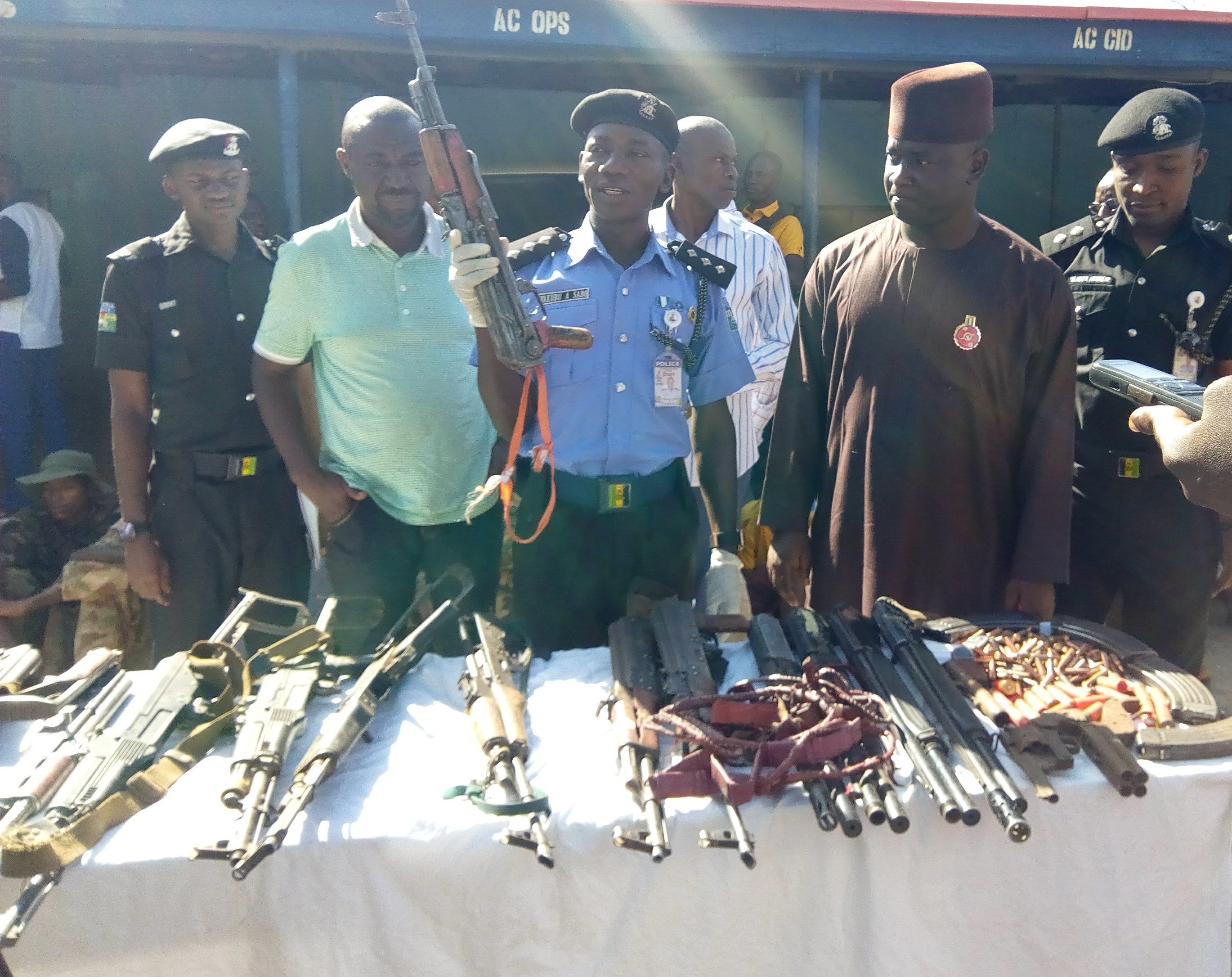 Police nab 39 suspected kidnappers, armed bandits in Kaduna