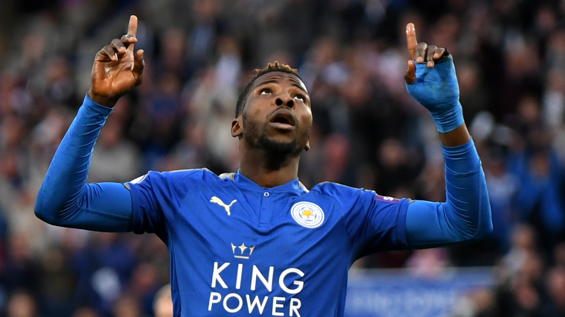 Photo of Iheanacho nominated for Leicester Goal of The Month