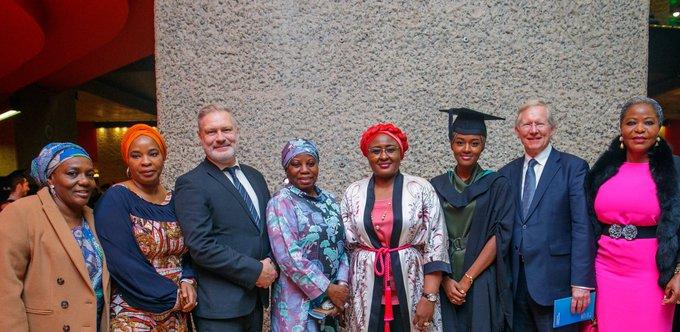 Photo of Photos: Buhari's daughter, Hanan bags first class in photography at UK university