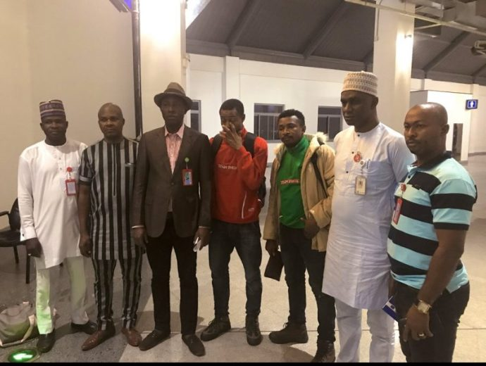 Photo of Photo: FUTO students detained in Bosnian camp arrive Nigeria