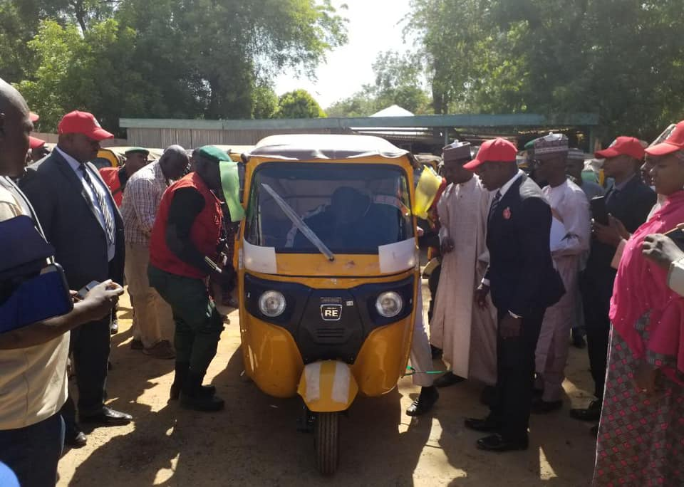 Photo of EFCC hands over 53 recovered tricycles to Zamfara Govt