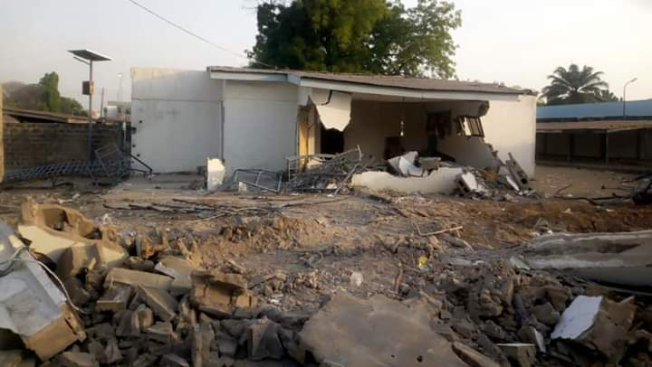 Photo of Gbemi Saraki attacks Kwara governor for demolishing father's house