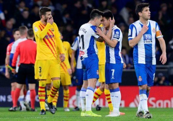 Photo of Barcelona drop points to La Liga bottom club Espanyol