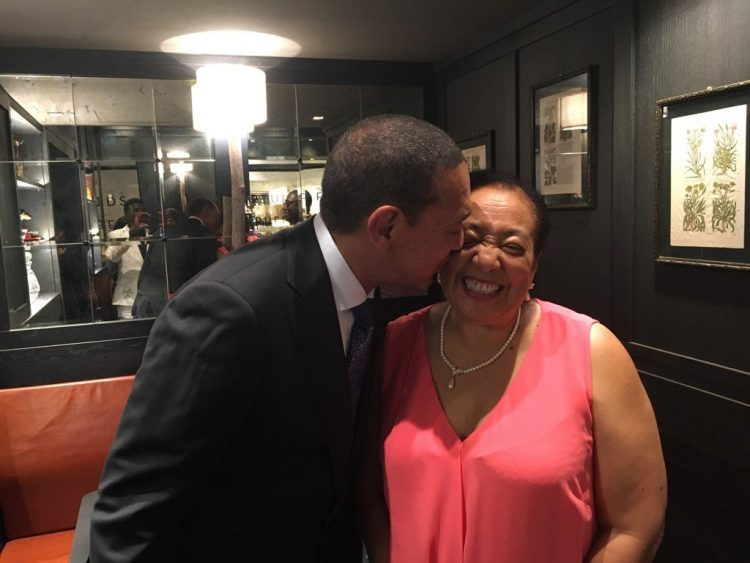 Photo of Ben Murray-Bruce's wife, Evelyn dies of cancer