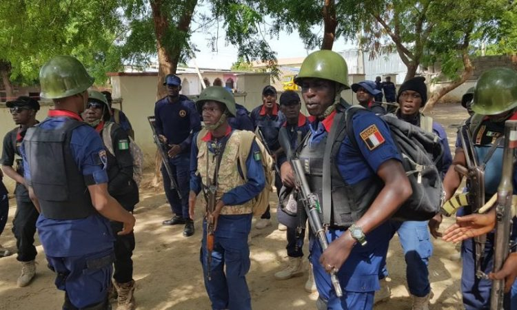 NSCDC officer killed during gun battle with kidnappers in Benin