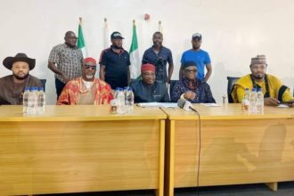 Nollywood: Melaye, Fani-Kayode, others on set (Photo)