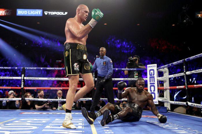 Photo of Tyson Fury, Wilder's third fight cancelled