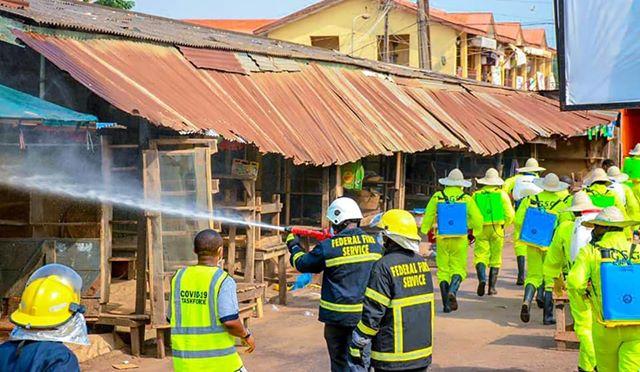 Photo of Coronavirus: Ogun begins disinfection of markets,  parks,  others