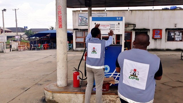 Photo of DPR seals filling stations selling above pump price