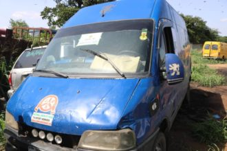 [Photos] Customs Arrests Covid-19 Vehicle Smuggling Frozen Poultry Products In Ogun