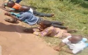 Graphic Photo: Grave diggers caught with five severed heads in Ondo