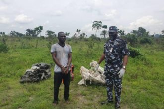 Photos: Police exhume corpses of three kidnapped UNIPORT students, arrest kidnappers