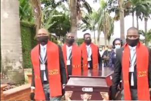 Highlife legend Olaiya buried in Lagos