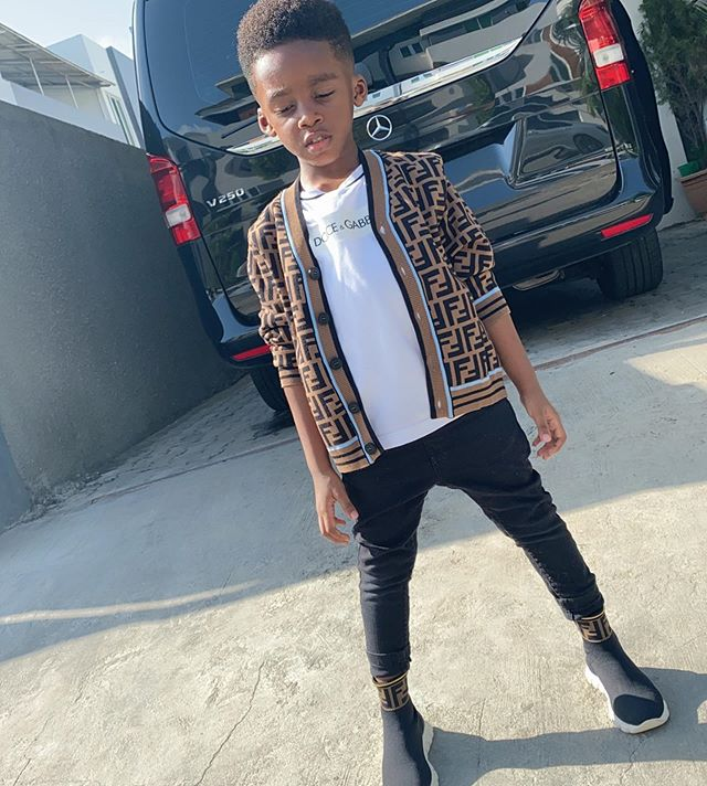 Photo of Photos: Tiwa Savage shows off her cute son, Jamil