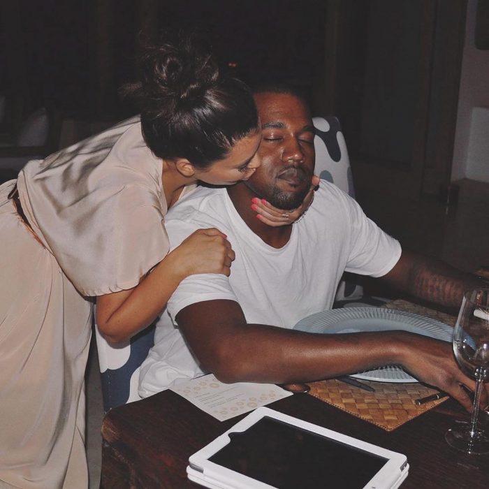 Photo of Kim, Kanye reunite