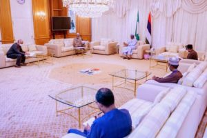 BREAKING: Buhari receives briefing from PTF on COVID-19