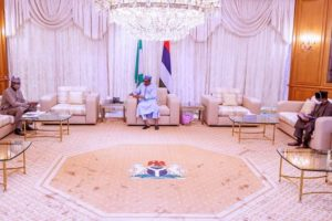 JUST IN: Buhari receives updates from PTF (Photos)