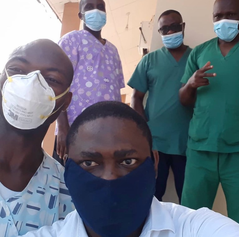 Photo of Singer Azadus commends Lagos COVID-19 team after recovering