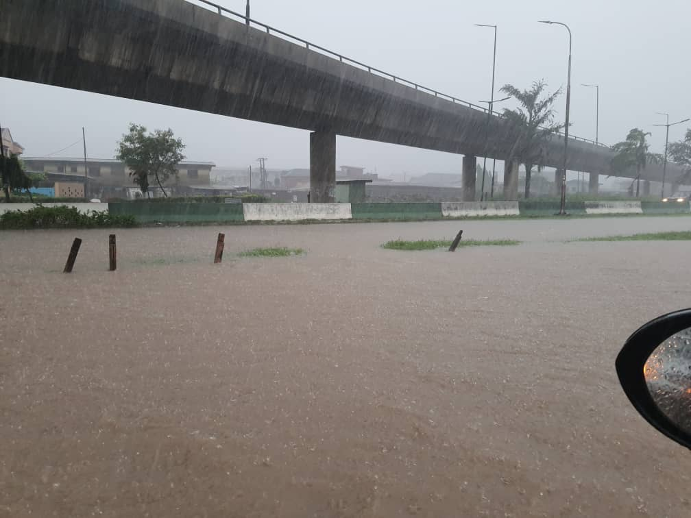 Photo of Lagosians lament as early morning downpour leave roads, homes flooded [Photos/Videos]