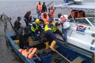 Five drown in Lagos boat mishap