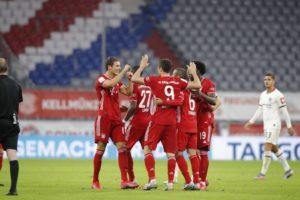 Bayern Munich qualifyBayern Munich suffer 4-1 loss to end long unbeaten run