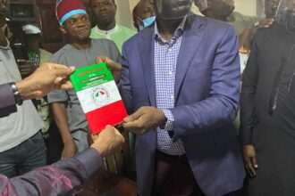 BREAKING: Governor Obaseki formally joins PDP [Photos/Video]