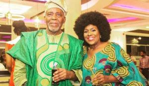 Olu Jacobs, Joke Silva mark 35th wedding anniversary