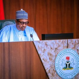 Buhari swears in four new permanent secretaries