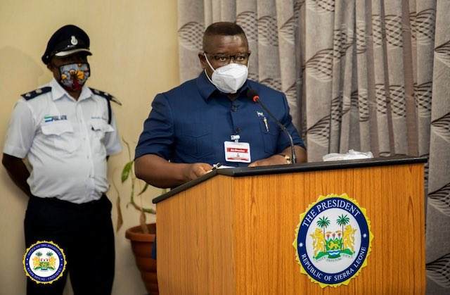 Photo of Sierra Leone pledges 'unflinching support' for Adesina