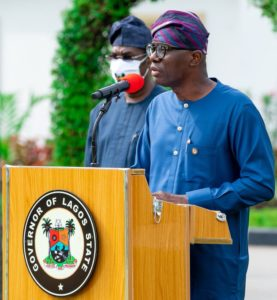 BREAKING: Sanwo-Olu directs all civil servants from grade 1-12 to resume Monday