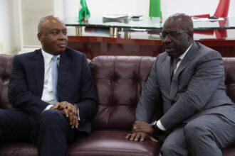 Defection: Saraki Welcomes Obaseki to PDP, Congratulates Edo State Chapter
