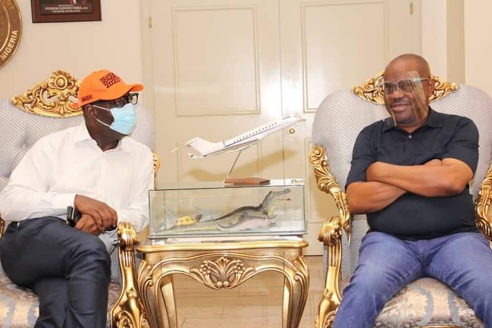 Photo of Edo 2020: Ize-Iyamu not fit to be Obaseki's opponent, Wike brags
