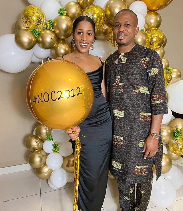 Photo of Pictures: Naeto C, wife Nicole celebrates eighth wedding anniversary