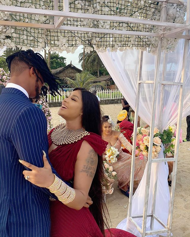 Photo of Nollywood actress, Angela Okorie weds fiance in Lagos (pictures)