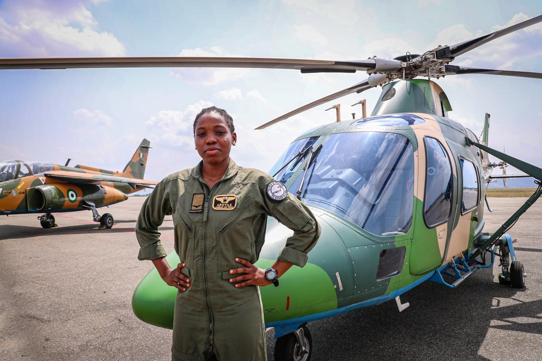 Photo of Nigerian Air Force First Female Combat Pilot Dies At 23