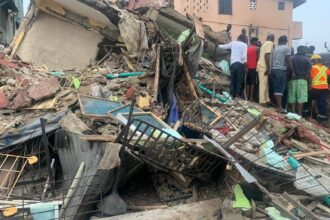 Three-storey building collapses in Lagos, one killed, six rescued