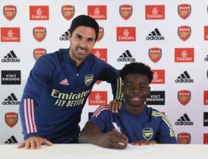 Bukayo Saka should play for England, not Nigeria, Arsenal coach says