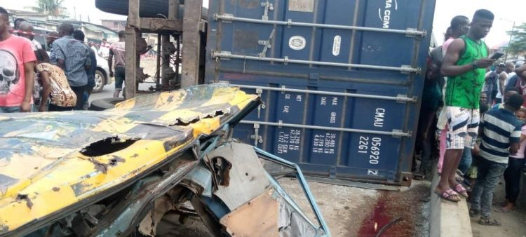 Trailer crushes three to death on motorcycle in Ogun
