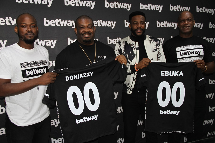 Photo of Don Jazzy, Ebuka gets ambassadorial deals with Betway (Photos)