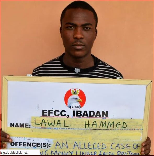 Photo of Internet fraudster Hammed Lawal jailed over $500
